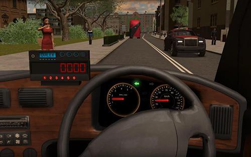 Taxi sim 2016 screenshot 1