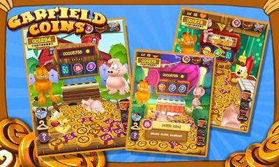 Spielautomaten Garfield Coins auf Deutsch