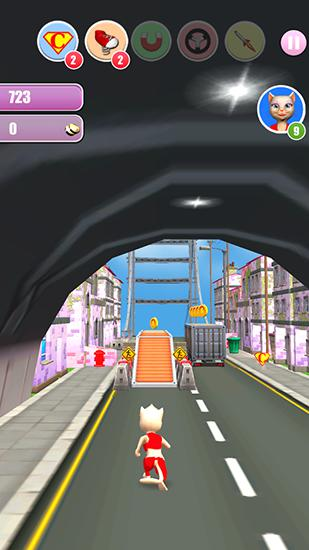 Princess cat Lea run für Android