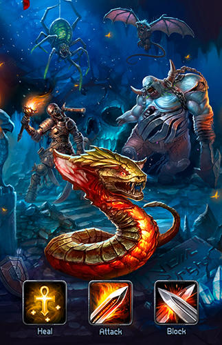 Godlands: Heroes and battles für Android