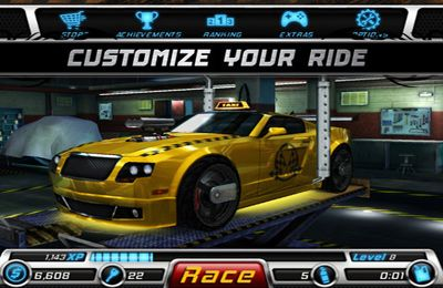 Rennen ohne Bremsen für iPhone
