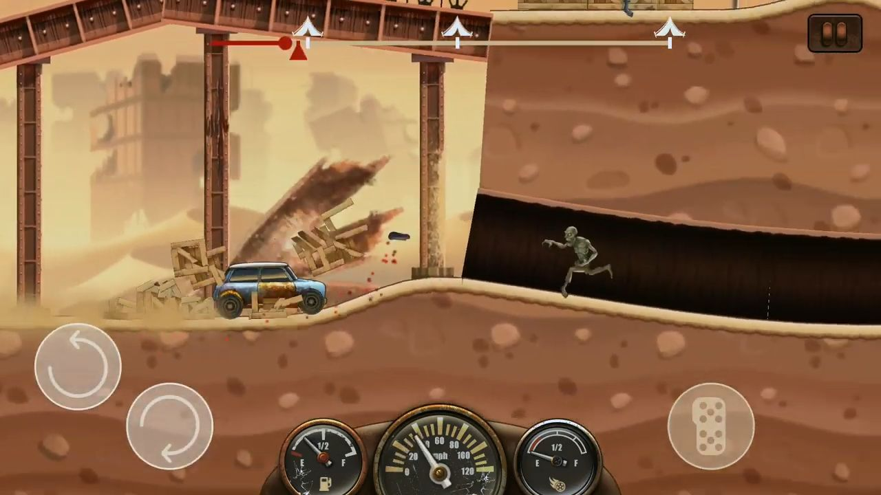 Zombie Hill Racing - Earn To Climb: Apocalypse スクリーンショット1