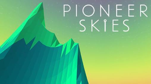 Pioneer skies: 3D racer Screenshot