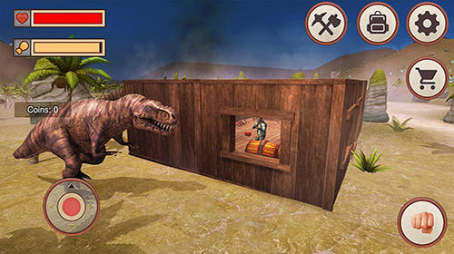 Jurassic dino island survival 3D für Android