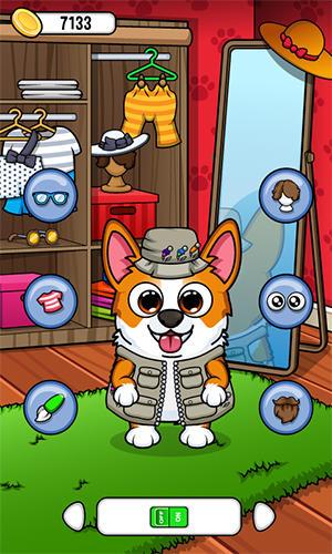 Simulation My Corgi: Virtual pet game für das Smartphone