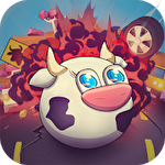 Milky road: Save the cow icon