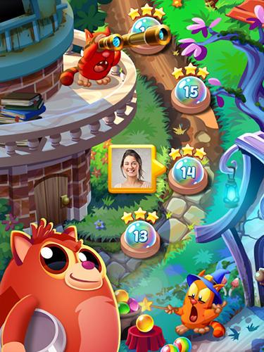 Arcade-Spiele Cookie cats pop für das Smartphone