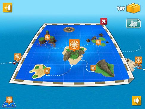 Lego-Spiele LEGO Creator islands auf Deutsch