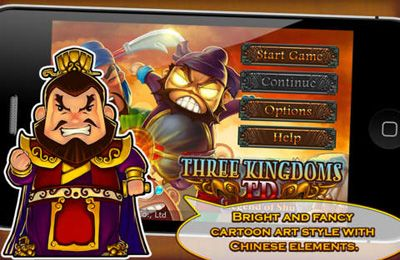Three Kingdoms TD – Legend of Shu for iPhone for free