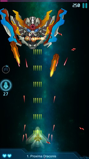 Galaxy falcon Screenshot