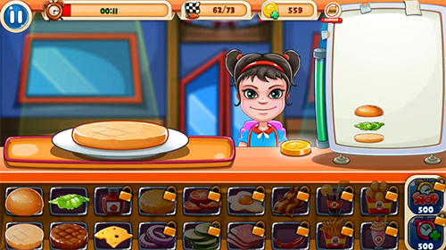 Top burger chef: Cooking story für Android