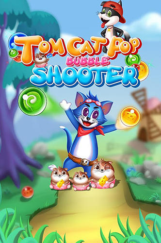 Tomcat pop: Bubble shooter Screenshot