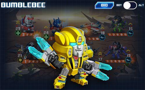Онлайн игры: скачать Transformers: Battle tactics на телефон