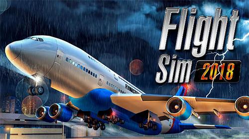 logo Simulador de vuelo 2018