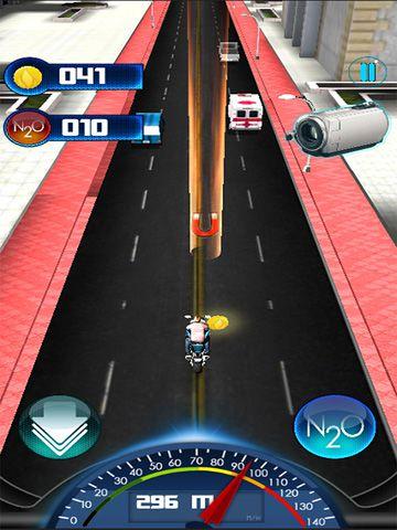 Carrera mortal de motos 2015 para iPhone gratis