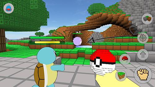 Cube craft go: Pixelmon battle Screenshot