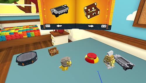 Arcade LEGO Brickheadz builder VR für das Smartphone