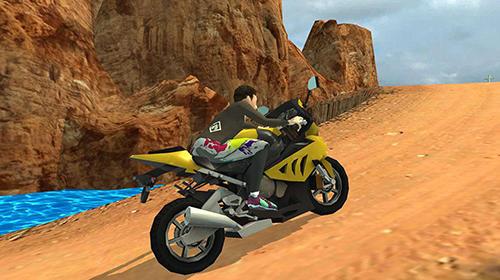 Off road moto bike hill run auf Deutsch