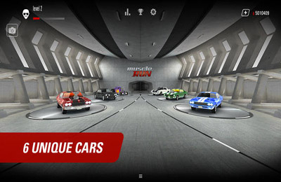 La course en Muscle Cars en russe