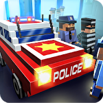 Blocky city: Ultimate police Symbol
