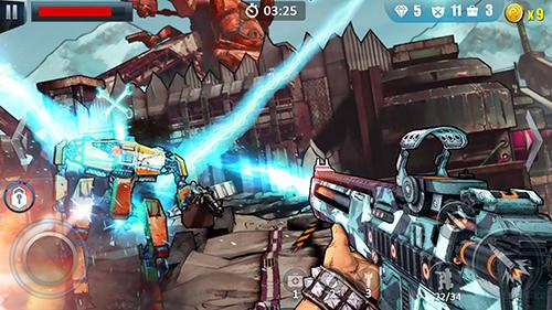 Fatal bullet: FPS gun shooting game для Android