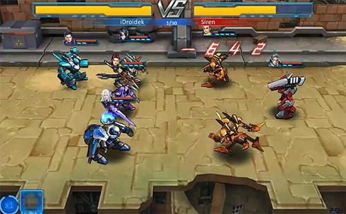 RPG Mecha vs zerg für das Smartphone