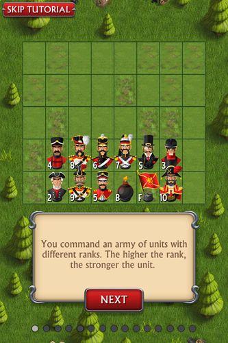 Brettspiele: Lade Stratego: Einzelspieler auf dein Handy herunter