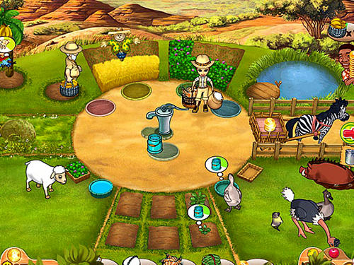 策略 Farm mania 3: Hot vacation智能手机