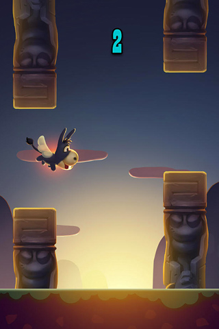 Arcade-Spiele: Lade Flinker Esel auf dein Handy herunter