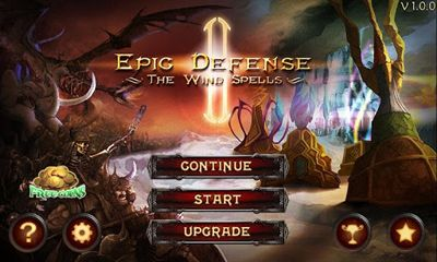 Strategiespiele Epic Defense - The Wind Spells für das Smartphone