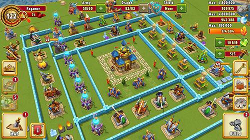 Online-Strategiespiele Dragon lords 3D strategy auf Deutsch