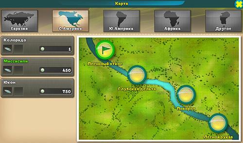 Arcade-Spiele World of fishers: Fishing game für das Smartphone