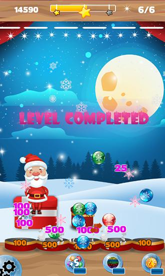 Bubble shooter: Frozen puzzle скріншот 1