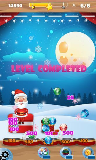 Bubble shooter: Frozen puzzle captura de pantalla 1