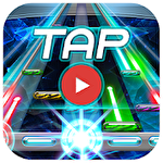 Taptube: Music video rhythm game Symbol