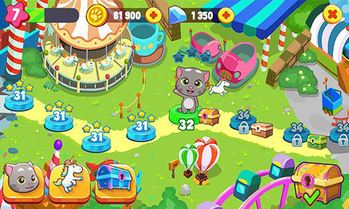 Talking Tom candy run скріншот 1