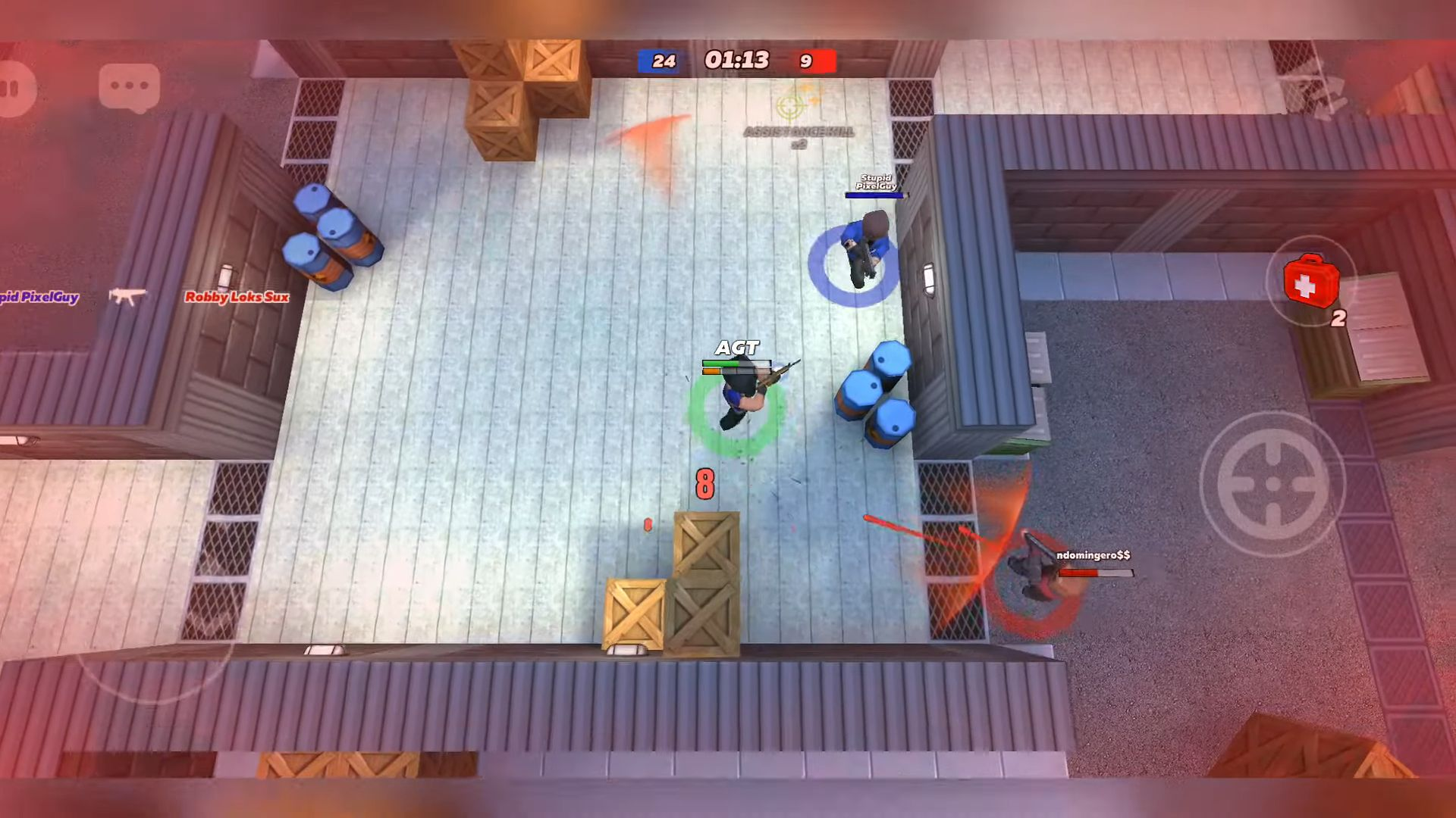 Kuboom Arcade: 3D Shooter & Battle Royale скриншот 1