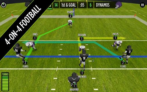 Simulator-Spiele Mike Vick: Game time. Football für das Smartphone