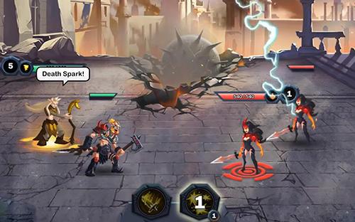 Strategie RPG Age of heroes: Conquest auf Deutsch