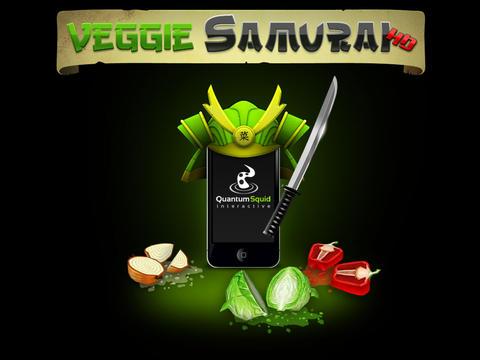 логотип Самурай против овощей