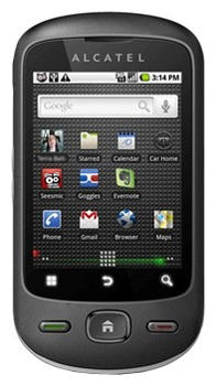 Alcatel OneTouch 906 apps