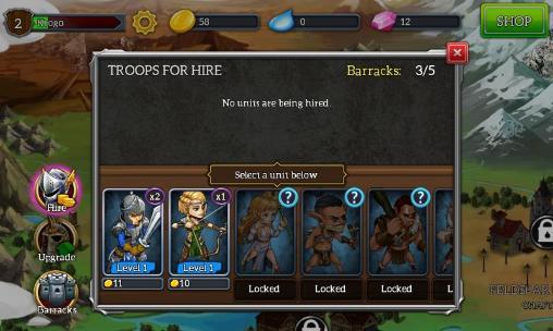 Скриншот Падение дракона: Тактика на андроид