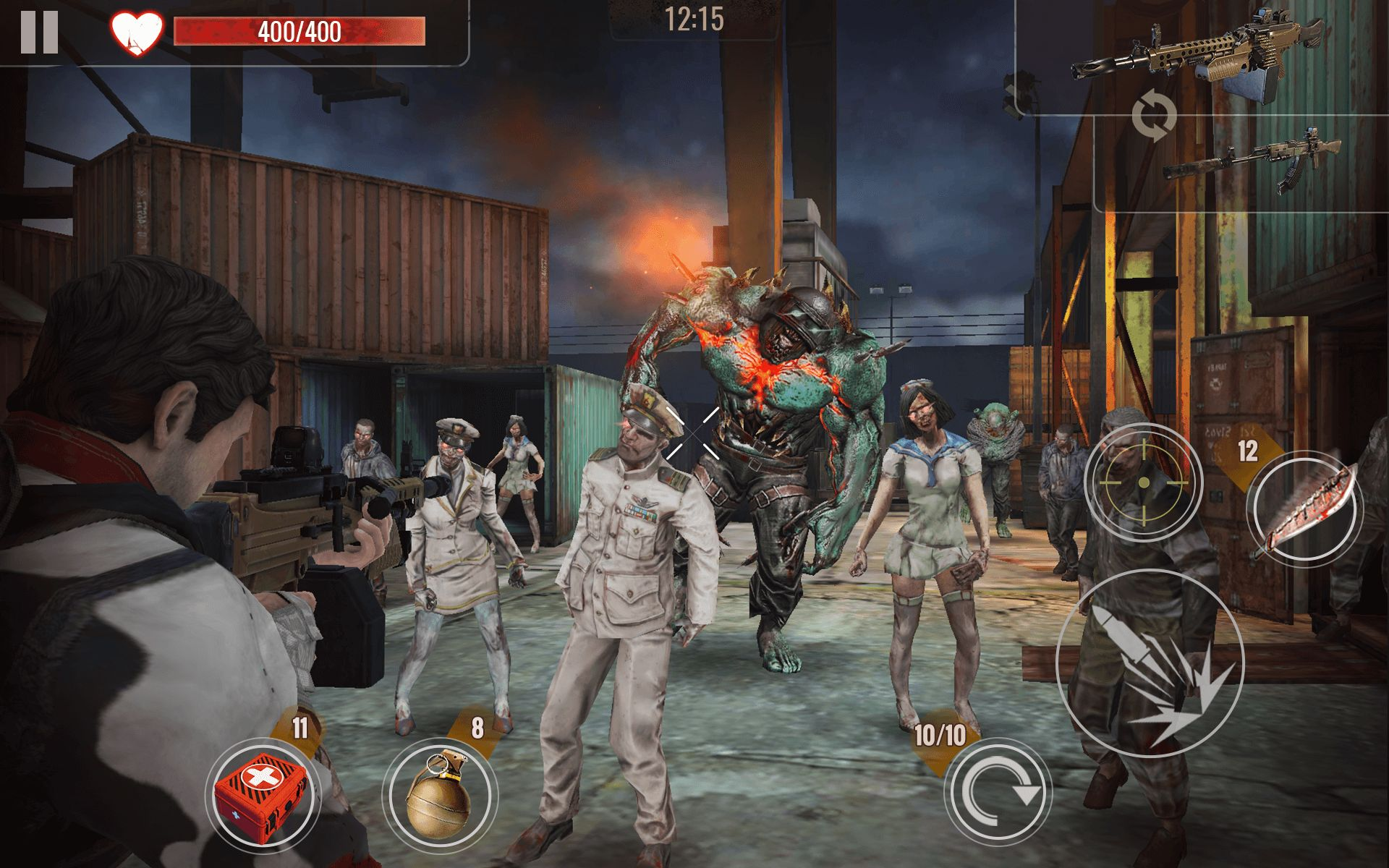 Capturas de tela de ZOMBIE SURVIVAL: Offline Shooting Games