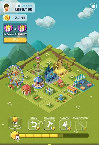 2048 tycoon: Theme park mania の日本語版