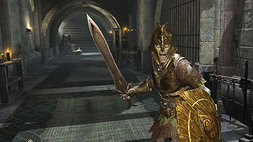 MMORPGゲーム The elder scrolls: Blades の日本語版