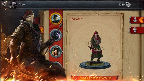 Ведьмак: Боевая арена для iPhone бесплатно