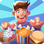 Idle restaurant tycoon: Food empire game icône