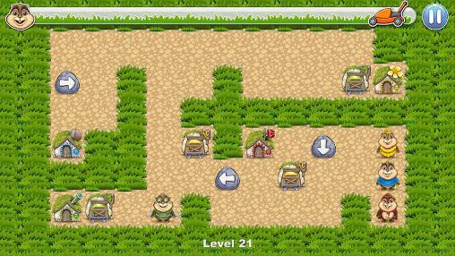 Logikspiele Chipmunks' trouble für das Smartphone