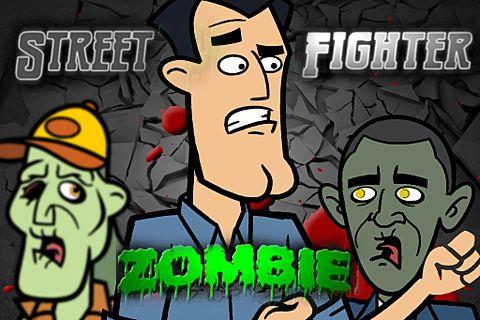 logo Straßen Zombie Kämpfer
