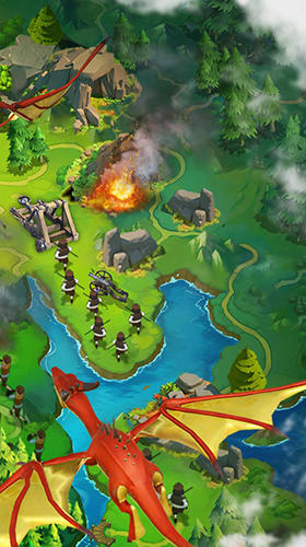 Clash of kings 2: Rise of dragons für Android
